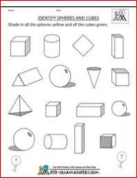 3d shapes worksheets 1st grade free worksheets library download