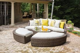 Curved Wicker Patio Furniture - item lloyd flanders premium outdoor furniture in all weather