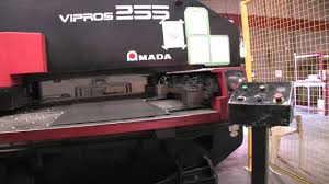 amada vipros 255 cnc turret punch press youtube