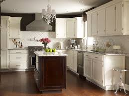 cote de texas stunning two tone kitchen design with espresso