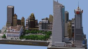 Minecraft America Map by Midtown Manhattan New York City Download V2 0 Minecraft Project