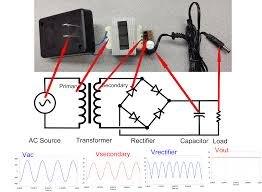 ac to dc power converter circuit diagram wiring diagram components