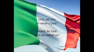 Italy National Flag Italian National Anthem