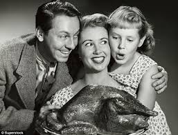 classic black and white photos of thanksgiving daily mail