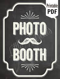 photo booth sign diy printable chalkboard pdf photo booth sign photo booth
