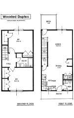 apartment rental layout spacious living oversized closets patio