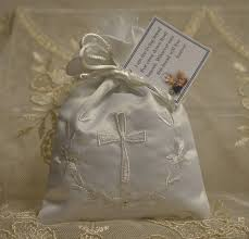 baptism favor almond favors communion baptism favors with embroidery cross and