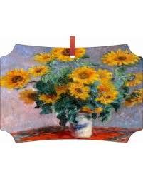slash prices on artist claude monet s sunflower painting tm flat