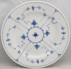 royal copenhagen blue fluted plain china