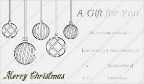 free christmas gift card template for ms word download free