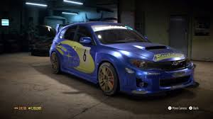 subaru impreza hatchback custom need for speed 2015