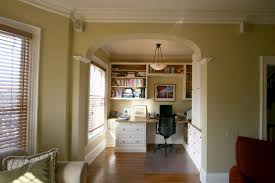 Bookshelves And Desk Built In by 45 Built In Bookcases With Desk Window Treatment Ideas From