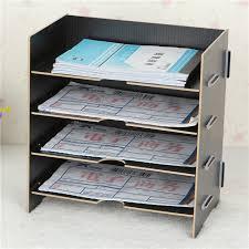 rangement documents bureau bureau accessoires creative étagère de rangement bureau documents