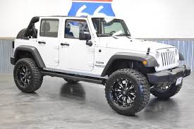 jeep wrangler 2 door hardtop lifted used 2015 jeep wrangler unlimited sport 4x4 suv for sale in norman