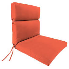 Orange Patio Cushions by Jordan Manufacturing Outdoor Cushions On Hayneedle Shop Outdoor