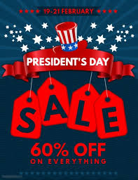 s day sales customizable design templates for president day sales postermywall