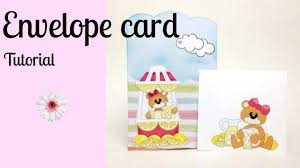 how to make an envelope card youtube