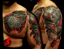 armor shoulder tattoo 11 best tattoos ever