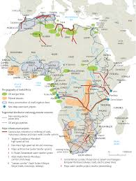 Africa Religion Map by Going To Town Economists And Africa