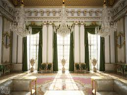 interior inspired by european palaces published by cgarchitect com