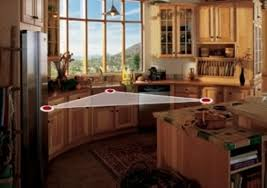 kitchen triangle design with island how to smartly organize your kitchen design triangle kitchen