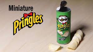 Miniature by Miniature Pringles Polymer Clay U0026 Paper Tutorial Youtube