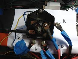 1986 36 volt club car ds switch and fuse wiring assembly golf