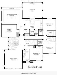 Sorrento Floor Plan Altura By Toll Brothers Summerlin Las Vegas Nv