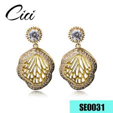 saudi arabia gold earrings saudi arabia fashion jewellery 24 carat arab gold plating hoop