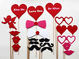photo booth for valentines day photo booth props prek febuary vday