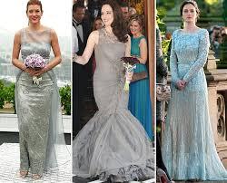 dresses to go to a wedding trend alert tv wedding dresses go grey