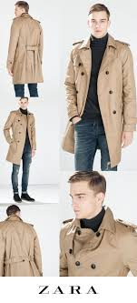 just bought this mens khaki trench coat from zara 229 men