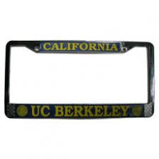 uc berkeley alumni license plate frame license plate frames berkeley license plate frame bancroft