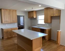 maple kitchen cabinets with white granite countertops granite countertops kitchen cabinets richmond va panda
