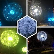 china ball video lighting dandelion light ball china