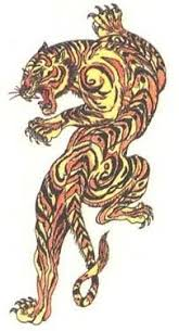 tattoos designs from tiger category