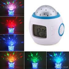 night light alarm clock 2018 sky star night light projector l alarm clock w music 10 3x10