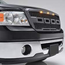 Ford Raptor Grill Lights - 04 08 ford f 150 raptor style packaged grille