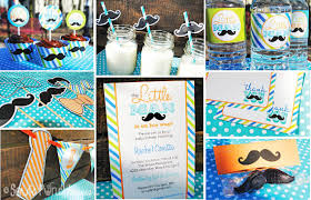 baby shower mustache theme instant baby shower mustache bash printable