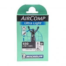 valve chambre a air chambre à air michelin aircomp ultra light 650x18 23c valve 60 mm