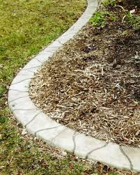 concrete landscape edging looks like flagstone home and garden