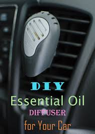 our little loves diy essential oil diffuser for your car
