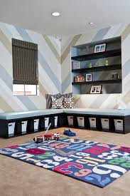 Storage Bench Kids Bedroom Storage Bench Kids Contemporary With Area Rug Baskets Blue