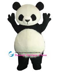 halloween mascot costumes cheap online get cheap panda mascot costume aliexpress com alibaba group