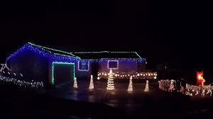 christmas light show o holy night youtube