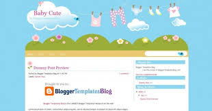 10 free cute kids blogger templates dobeweb