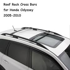 honda odyssey roof rails ironwalls 2x car roof rack cross bars roof box bike rack water