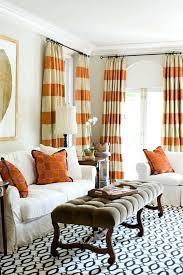 Autumn Colored Curtains Orange Curtain Panels Rundumsboot Club