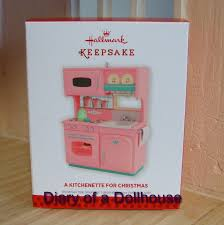 dollhouse play kitchen with hallmark kitchen ornaments diary of