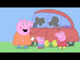 peppa pig cleaning car mp4